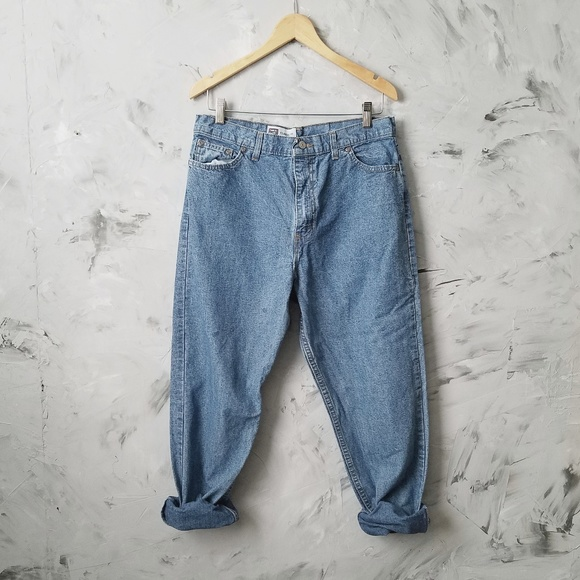 various styles the latest cheap for discount FADED GLORY 80's Vintage Baggy Denim Blue Jeans